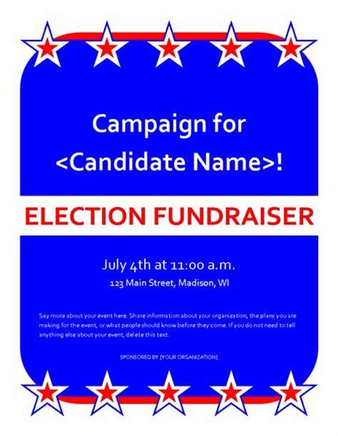 political caign flyer template political fundraiser event flyer templates office