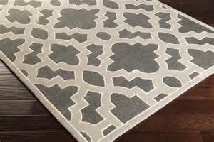 Gray And White Trellis Rug by Regency Trellis Rug In Charcoal Grey Medium Grey And