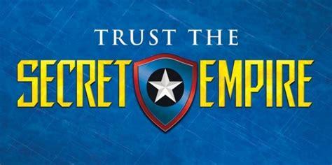 libro secret empire marvel lanza un segundo anuncio de secret empire