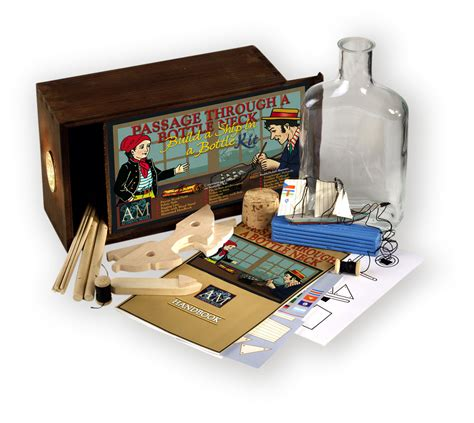 authentic models boat in a bottle kit ship in a bottle kit nautical accessory by authentic