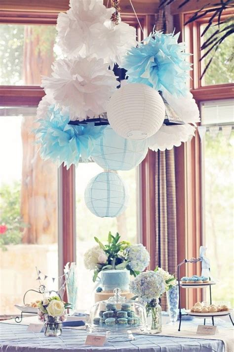 light blue baby shower decorations rustic project nursery and baby showers on