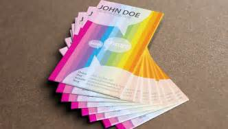 rainbow business card template 25 rainbow business card templates free premium