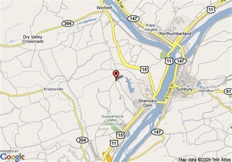 Ceilings Grove Pa by Map Of Hton Inn Selinsgrove Shamokin Dam Selinsgrove