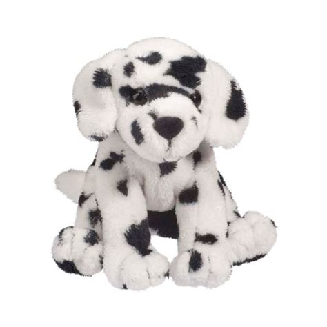 stuffed dalmatian puppy checkers the 5 inch plush dalmatian mini pup by douglas at stuffed safari