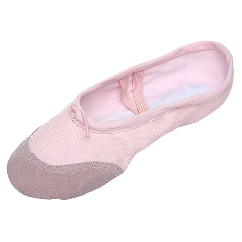new child canvas ballet shoes slippers pointe