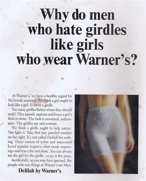why do like why do who girdles like who wear warner s