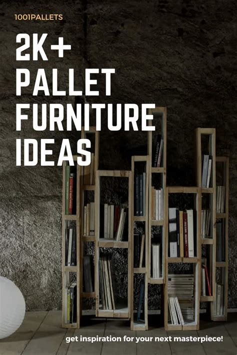 Hundreds of DIY Pallet Wood Furniture Ideas   1001 Pallets