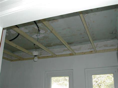 dalle de plafond 2008 lattage notre maison chantier jour apr 232 s jour