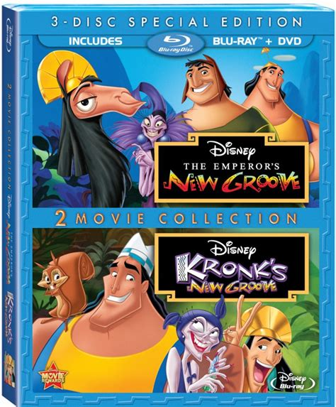 new film blu ray the emperor s new groove blu ray review disney tourist blog