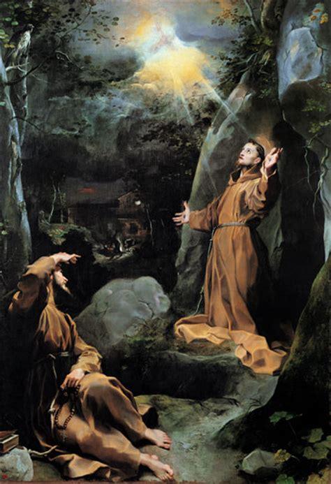 le tre stimmate di santo del giorno san francesco d assisi impressione delle stimmate