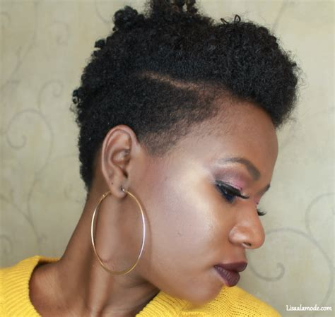 How To Style Tapered Hair by Six Hairstyles On A Tapered Cut Hair A La Mode