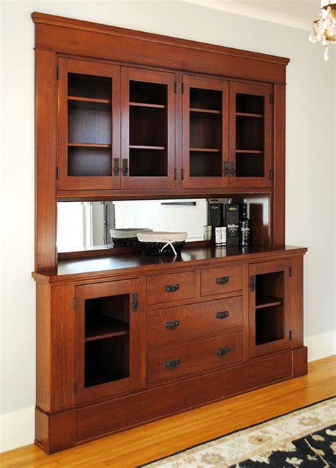 Mission Style House arts amp crafts built ins