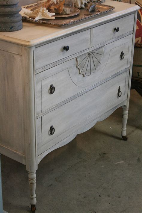 How To Whitewash A Dresser by Reloved Rubbish Whitewashed Vintage Dresser