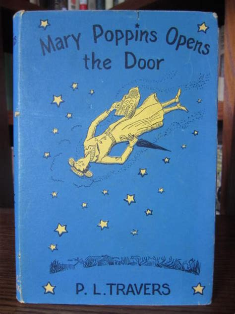 mary poppins opens the mary poppins opens the door by p l travers hardcover later printing 1943 from old