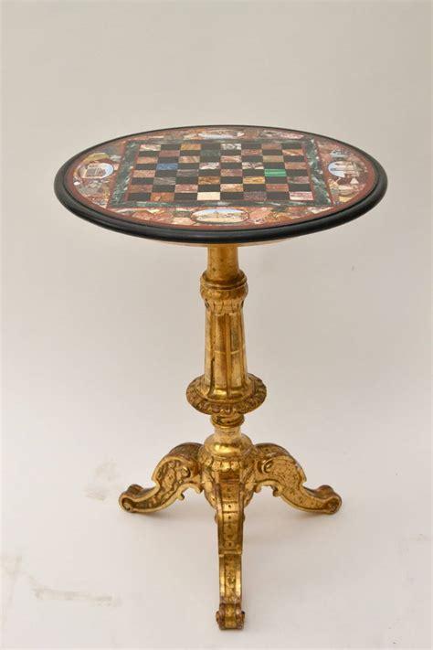 Mosaic Table L Italian Pietra Dura And Micro Mosaic Inlaid Circular Table Top At 1stdibs