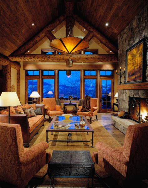 colorado home decor colorado mountain home traditional living room phoenix by design directives llc