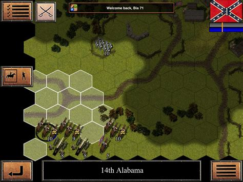 armchair general games civil war 1863 ios game review armchair general