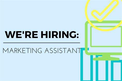 we re hiring marketing assistant downtown sacramento partnership