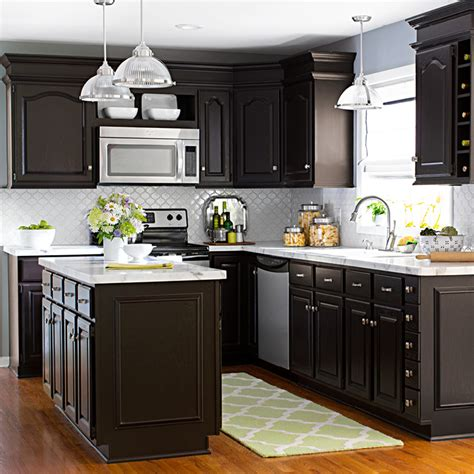 Update Kitchen Ideas by Updating Dark Kitchen Cabinets Quicua Com