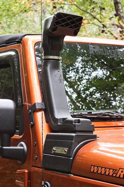 Jeep Snorkel Kits Rugged Ridge 17756 21 Xhd Snorkel Kit 3 6l 12 13