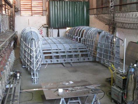 catamaran hull structure alucat mc 38 woodenboat magazine