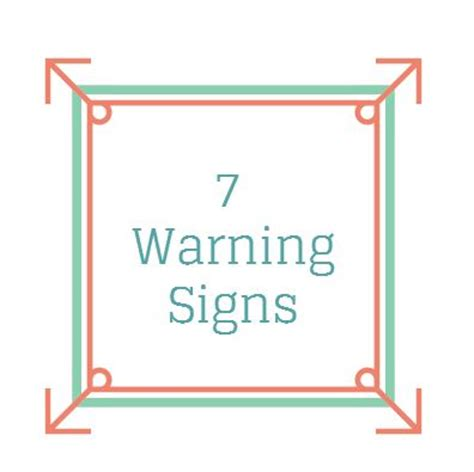 Key Warning Signals That Your Relationship Is On Rocky Ground by 7 Relationship Warning Signs To Eliminate That Are Not