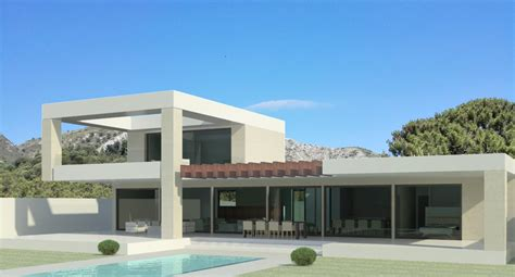 4 Bedroom House Plans One Story modern turnkey villas in spain france portugal