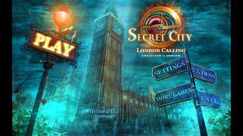 Secret City London Calling Collector S Edition Final