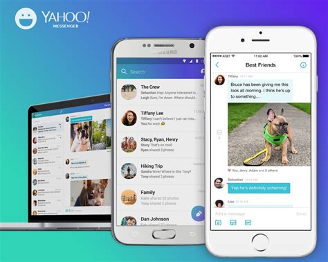 yahoo messenger in for android yahoo messenger now lets you send in your chats android community