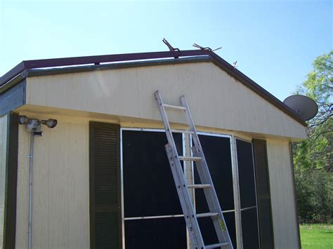 metal roof awnings mobile home metal roof awning carport la vernia