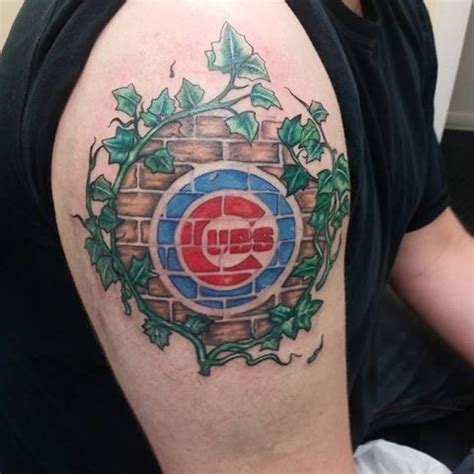 chicago cubs tattoos 25 best ideas about cubs on cubs