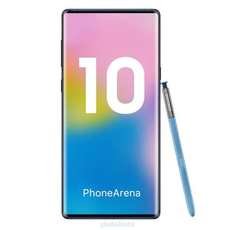 Samsung Galaxy Note 10 Specification by Samsung Galaxy Note 10 Specs Phonearena