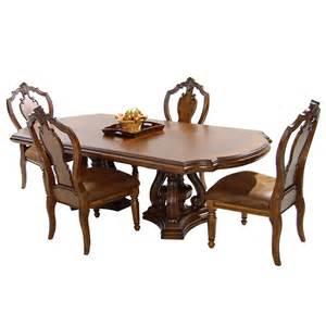 El Dorado Furniture Dining Room El Dorado Furniture San Mateo 5 Piece Formal Dining Set