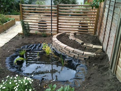 how to make a backyard pond mini garden that created using small backyard concept