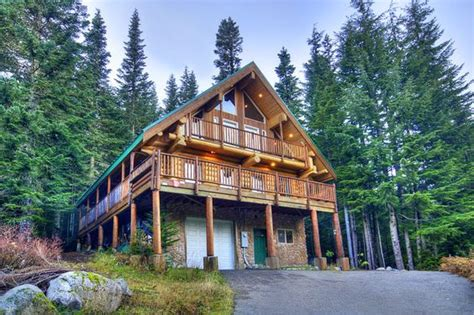 Snoqualmie Pass Cabin Rentals by Vacation Rental Cabins Mysty Mountain Properties