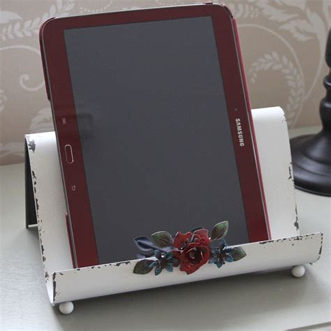 Kitchen Tablet Holder by Book Tablet Holder With Flower Stand Cook Book