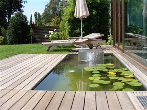 terrassengestaltung mit wasserbecken beste garten ideen