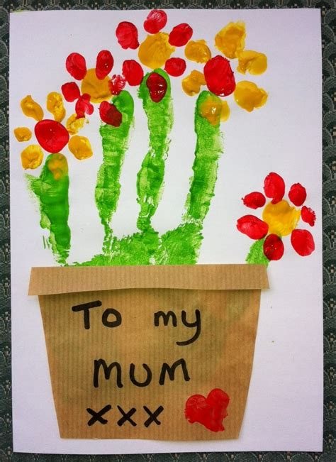 mothers day cards for preschoolers to make make your or a special card for s day