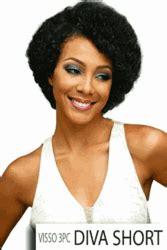 what is a diva hair cut bobbi boss visso short cut 3pcs 100 human hair diva short