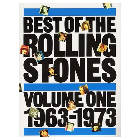 rolling stones best of best of the rolling stones volume 1 1963 1973 rolling stones