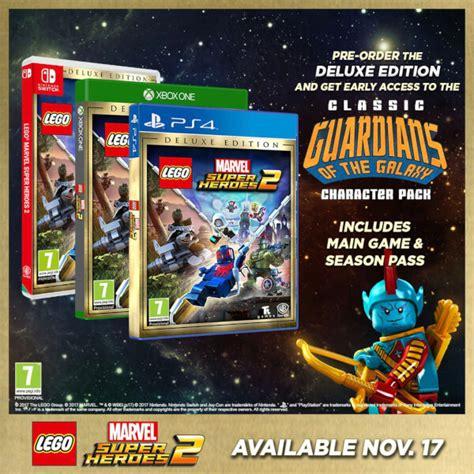 Ps4 Lego Marvel Heroes 2 Reg 3 lego marvel heroes 2 deluxe edition ps4 zavvi australia
