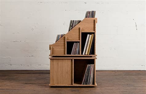 Regal Plattenspieler by Hi Phile Record Cabinet Das Plattenregal Zum