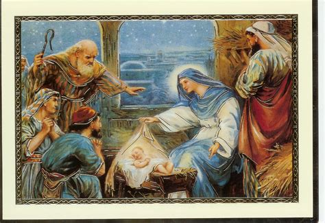 cards with nativity religious images desktop backgrounds