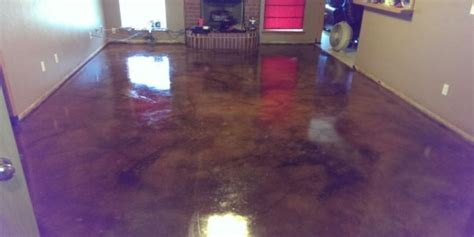 Cleaning and Staining Indoor Concrete Floors   Direct