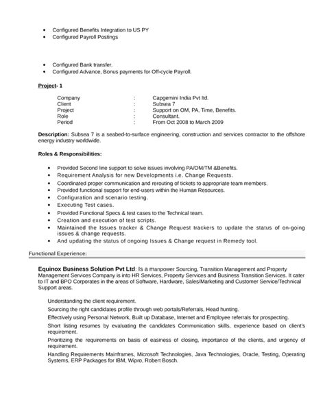 examples of human resources resumes luxury hr consultant resume
