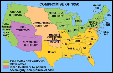 map of the united states in 1850 united states map 1850