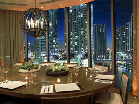 restaurants with rooms in miami dining room design of area 31 restaurant downtown