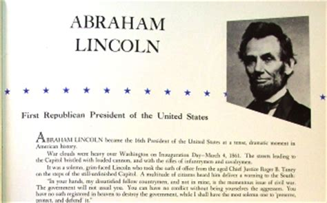 all the presidents tables abraham lincoln s inaugural 1957 inaugural program eisenhower nixon by norman rockwell