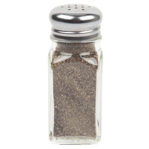 salt pepper shakers shop all salt pepper shakers tablecraft 154sp 2 oz square salt and pepper shaker 4 pack
