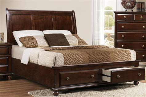 bedroom set with drawers queen bedroom set with storage drawers marceladick com